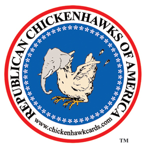 The Deck of Republican Chickenhawks